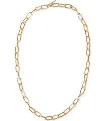 "rachel rachel roy gold-tone chain-link 32"" strand necklace"