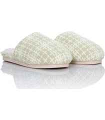 slippers sherpa retro thm mujer