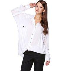 koszula oversize biała