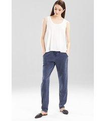 josie tees swing tank pajamas, women's, white, size l natori