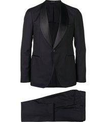 tagliatore two-piece evening suit - blue