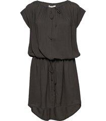 latifa korte jurk zwart rabens sal r