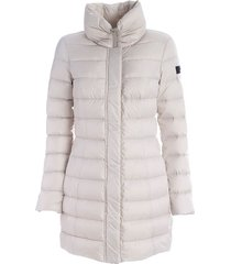 sobchak down jacket with high neck