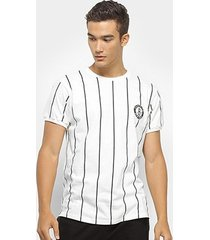 camiseta nba clas stripes brooklyn nets masculina