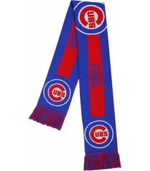chicago cubs forever collectibles mlb big team logo knit scarf