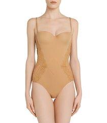 la perla women's shape-allure bodysuit - nude - size 34 c
