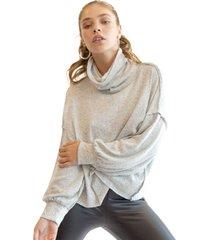 sweater relax gris racaventura