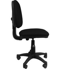 silla oficina  platina media negra ref:2043
