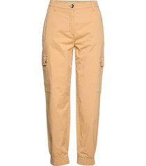najah pantalon met rechte pijpen geel baum und pferdgarten