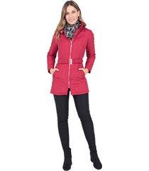 abrigo xuss 50655 vinotinto