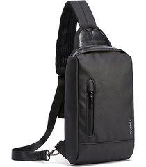 petto per la spalla impermeabile casual da esterno borsa sling borsa crossbody borsa for men