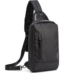 petto per la spalla impermeabile casual da esterno borsa sling borsa crossbody borsa for men