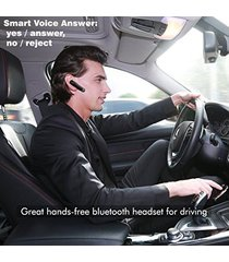 audífonos bluetooth deportivos inalámbricos, k618 auriculares estéreo con cancelación de ruido estéreo audifonos bluetooth manos libres  (negro)