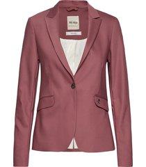 blake night blazer sustainable blazer colbert roze mos mosh