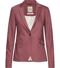 blake night blazer sustainable blazer colbert roze mos mosh