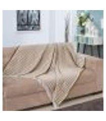 manta para sofá diamond - 150 x 140 cm ráfia