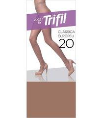 meia-calça fina modelo europeu adulto trifil