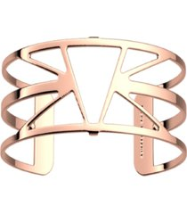 les georgettes by altesse triangular openwork adjustable cuff ibiza bracelet, 25mm, 1.0in