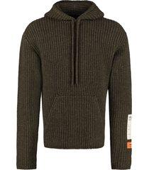 heron preston oversize virgin wool sweater