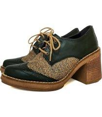 zapato verde miye collazzo carpano