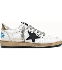 golden goose deluxe brand sneakers ball star jungle colore bianco