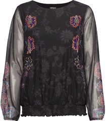 ts andora blouse lange mouwen multi/patroon desigual