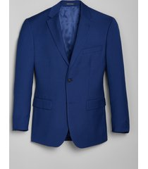 jos. a. bank men's 1905 navy collection tailored fit suit separate jacket, bright blue, 44 regular