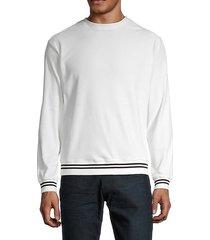 crewneck long-sleeve sweatshirt
