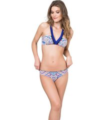 bikini vestido de baño multicolor kibys