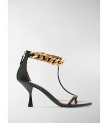 stella mccartney chain-link strappy sandals