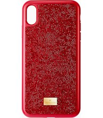 custodia per smartphone glam rock, iphoneâ® xs max, rosso