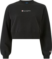 sweatshirt crewneck croptop