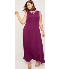 anywear berry bright maxi dress