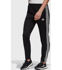 pantalón de buzo adidas performance w mh snap pant negro - calce regular