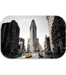 tapete decorativo  wevans new york 40cm x 60cm multicolorido - kanui