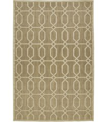 "kaleen a breath of fresh air fsr02-105 khaki 2'1"" x 4' area rug"