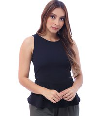 zamora blusa bocared para dama manga sisa con corte en cintura y falda