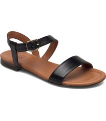 sandals 8714 shoes summer shoes flat sandals svart billi bi