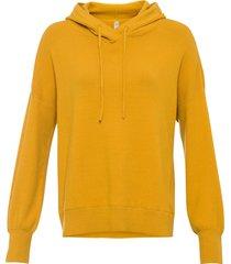 maglione con cappuccio (arancione) - rainbow
