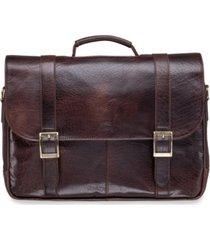 "mancini arizona collection porthole 15.6"" laptop / tablet briefcase"