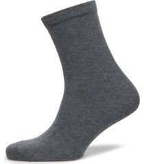 plain cotton socks lingerie socks regular socks grå mp denmark