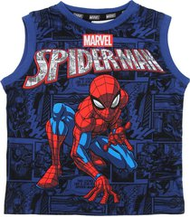 musculosa azul magic marvel spiderman historieta sudadera