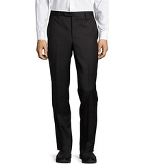italian structured wool pants