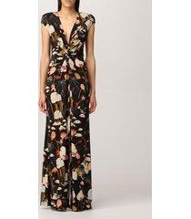 etro dress long etro dress in floral patterned jersey