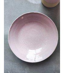 ceramiczna misa pastel różowa
