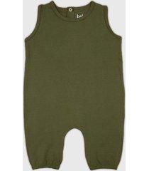 macaco babo design regata verde - verde - algodã£o - dafiti