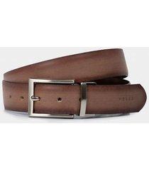 cinturon doblefaz de cuero