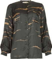 blouse linnea  grijs