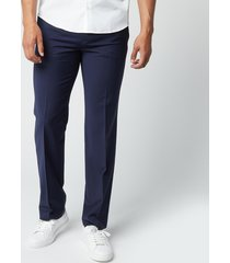 hugo men's fit203 trousers - dark blue - xl/52