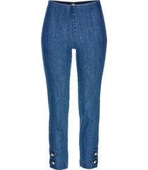 jeans cropped con perle (blu) - bpc selection